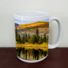 Rainbow Lakes Reflection Colorado  Coffee Mug