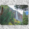 Bridal Veil Falls Colorado Glass Cutting Board 8x11 and 12x15 | Decorative Counter Protector | Telluride Waterfalla