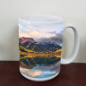 "Crystal Lake on Million Dollar Road in Colorado ""Fine Art Photo"" Mug by Koral Martin"