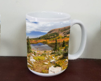 Blue Lakes Trail, Indian Peaks Wilderness, Colorado Photo Coffee Mug