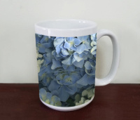 Hydrangea Blooms Flowers Fine Art Photo Coffee Mug