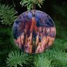 Bryce Canyon Ornament With Photo by Koral Martin  Wood or Ceramic