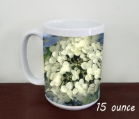 Hydrangea Blooms Flowers Fine Art Photo Ceramic Mug