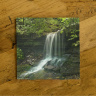 Artist Point Waterfall Arkansas Ceramic Drink Coaster