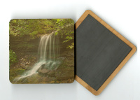 Artist Point Falls 4x4 Wood Coaster with magnet