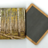 Aspen Grove 4x4 Wood Coaster with magnet