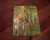 Covered Bridge  Photo Tempered Glass Cutting Board 8x11 and 12x15