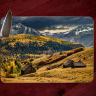 Old Colorado School House Photo Tempered Glass Cutting Board 8x11 and 12x15