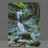 Eden Falls Photo on Tempered Glass Cutting Board, Arkansas