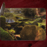 Below Glory Hole Waterfall Glass Cutting Board 8x11 and 12x15 | Decorative Counter Protector | Arkansas Art