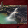 Kings Falls Photo on Tempered Glass Cutting Board 8x11 and 12x15