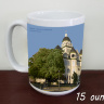 Carthage, Jasper County Courthous Summer Coffee Mug (1)