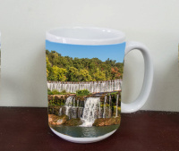 Grand Falls  Water Fall Photo Mug