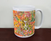 Fall Aspen in Colorado Ceramic Coffee Mug